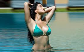 Sunny Leone in the Pool