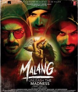 MALANG 2020 Bollywood Romantic-Action Movie